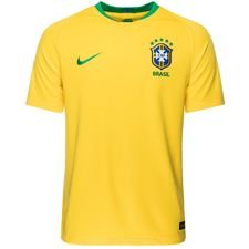brazil home shirt world cup 2018 kids - football shirts