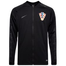 croatia training jacket anthem - black/anthracite - training jackets