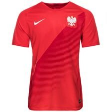 poland away shirt world cup 2018 kids - football shirts