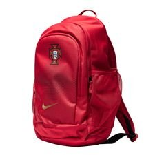 portugal backpack stadium - gym red/metallic gold - bags