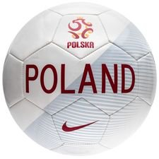 poland football supporter - white/pure platinum/red - footballs