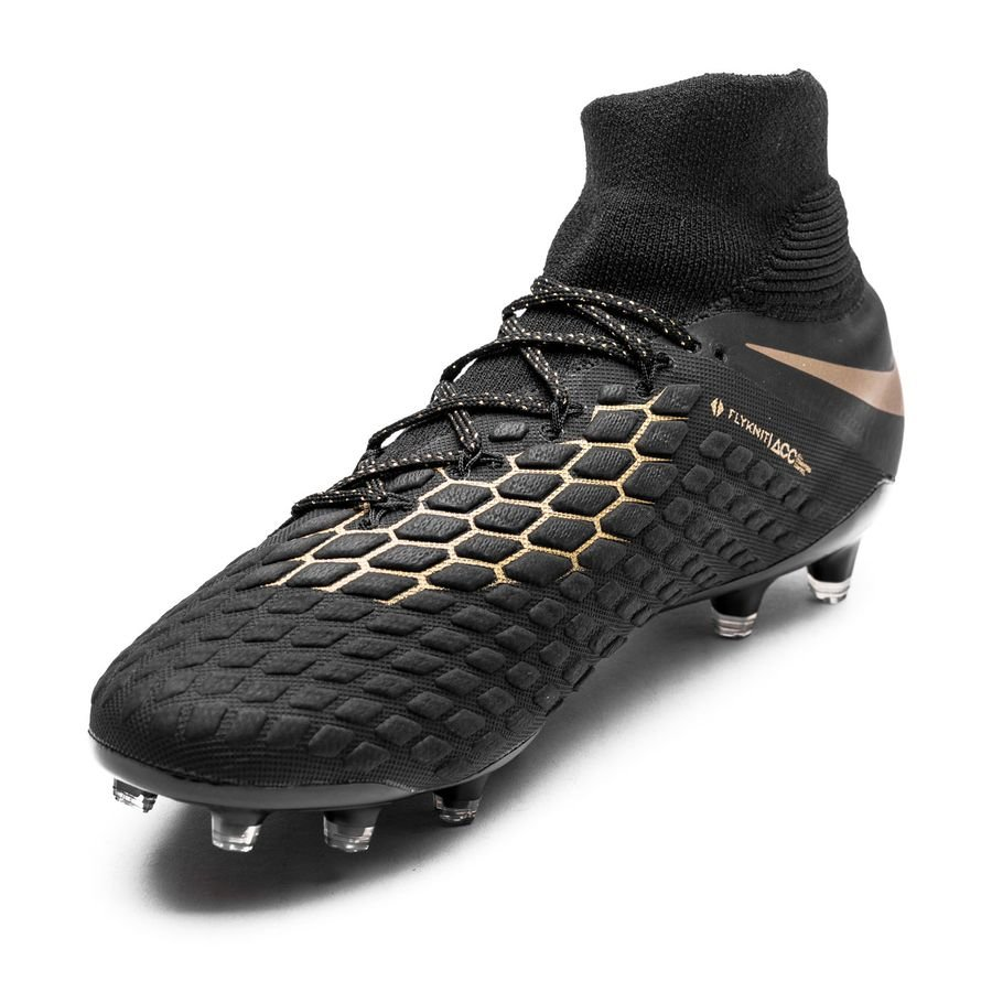 Nike Hypervenom Phantom 3 Elite DF FG Game of Gold - Black ...