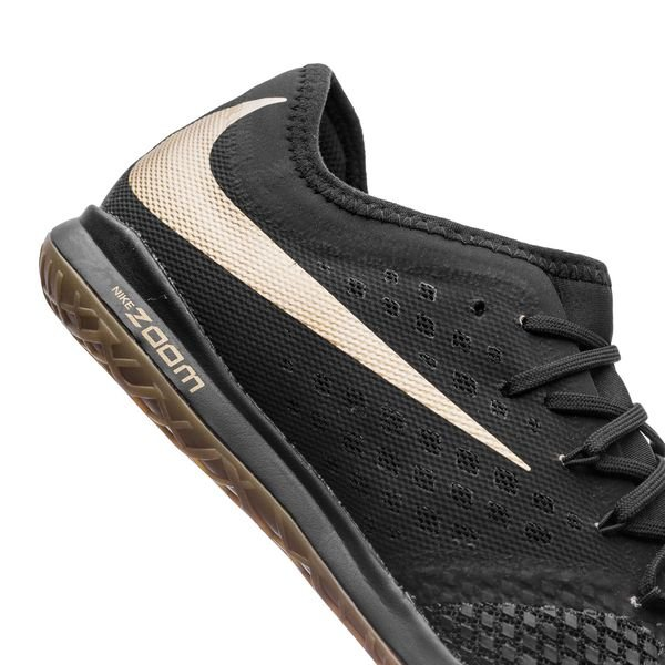 72cf4d2ab700 Nike Hypervenom Phantom 3 Pro Zoom IC Game of Gold - Black Metallic Vivid  Gold