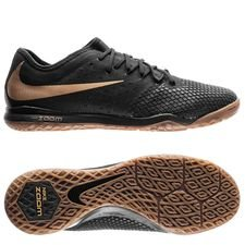 nike hypervenom phantom 3 pro zoom ic game of gold - black/metallic vivid gold - football boots