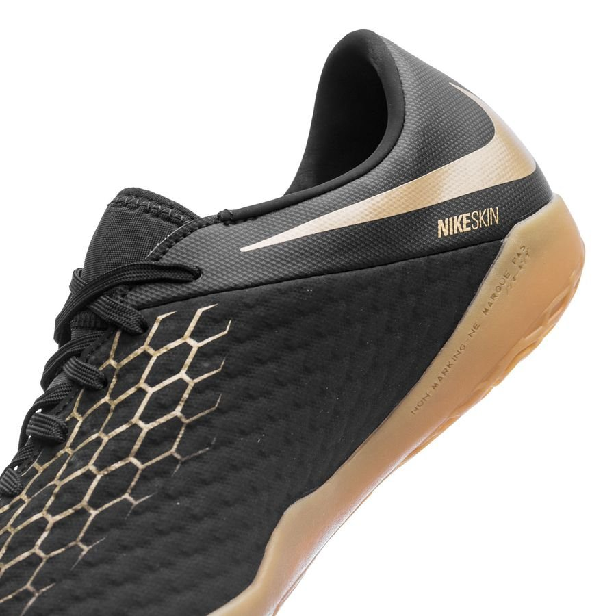 433eb6d12a4 Nike Hypervenom PhantomX 3 Academy IC Game of Gold - Black Metallic Vivid  Gold