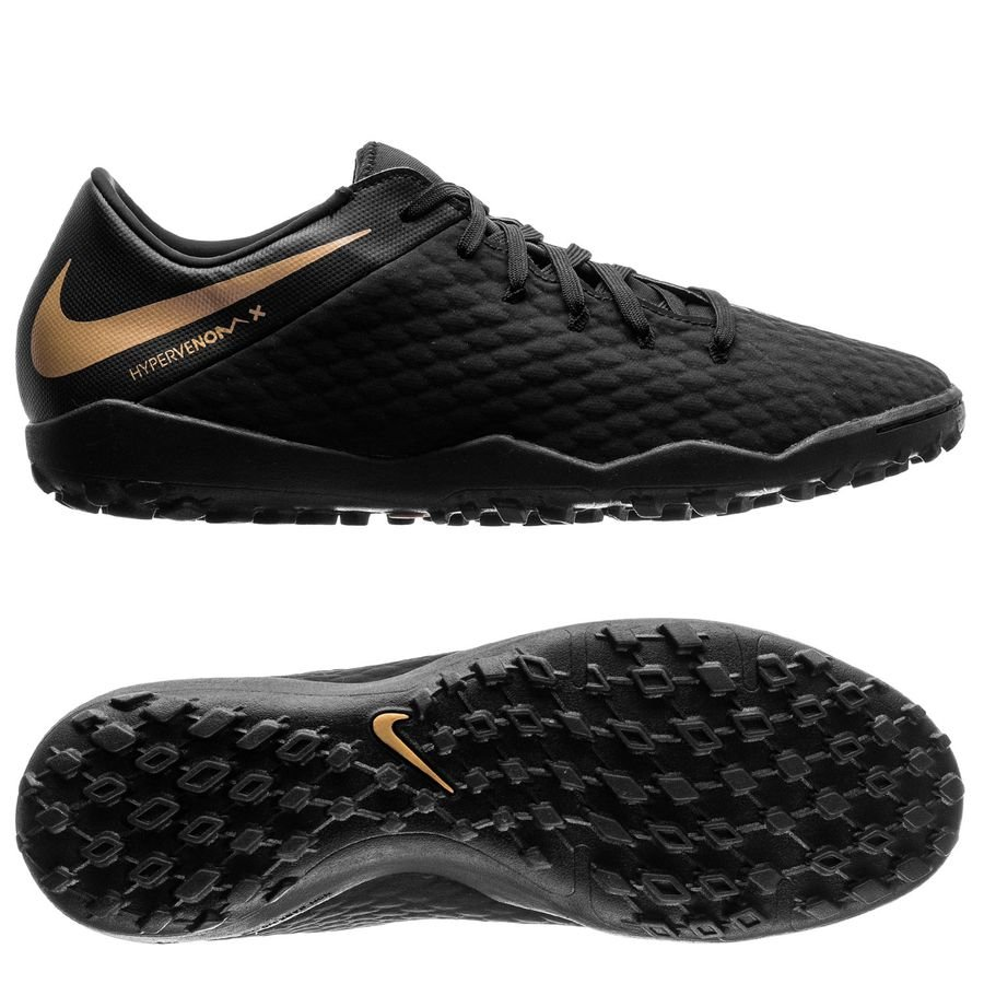 buy popular ef251 6c373 Nike Hypervenom PhantomX 3 Academy TF Game of Gold - Black ...
