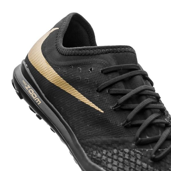 75a6b5e1334f Nike Hypervenom Phantom 3 Pro Zoom TF Game of Gold - Black Metallic Vivid  Gold