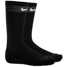 nike football socks squad crew - black/white - football socks