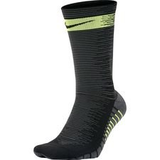 nike football socks squad crew - black/volt - football socks