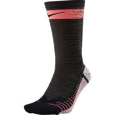 Nike Voetbalkousen NikeGRIP Lightweight Crew Just Do It - Zwart/Roze