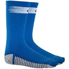 Nike Football Socks NikeGRIP Lightweight Crew Just Do It - Royal Blue/White