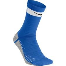 Nike Voetbalkousen NikeGRIP Lightweight Crew Just Do It - Blauw/Wit