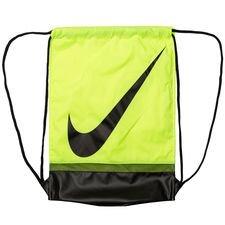 Nike gymnastikpose med Nikes Swoosh på fronten. En pose som perfekt til opbevaring af støvler, gymnastiktøj, eller til at have dine personlige ejendele i und