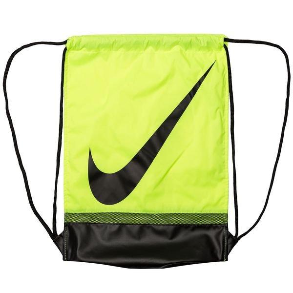 9e4ca615f2474 Nike Turnbeutel Brasilia - Neon Schwarz 0