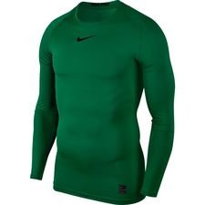 Image of   Nike Pro Compression L/Æ - Grøn/Sort