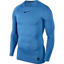 Image of   Nike Pro Compression L/Æ - Blå/Sort
