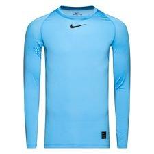Image of   Nike Pro Compression L/Æ - Blå/Sort