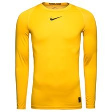 Image of   Nike Pro Compression L/Æ - Guld/Sort