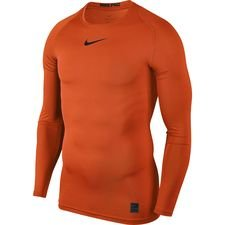 Image of   Nike Pro Compression L/Æ - Orange/Sort