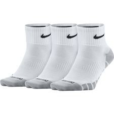 Nike Enkelsokken Everyday Max Lightweight 3-Pak - Wit/Zwart