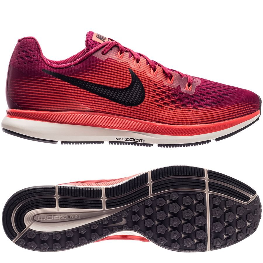 De Nike Pegasus Air Running 34 Chaussures Bordeauxnoirrouge Zoom TxUq5wpPx