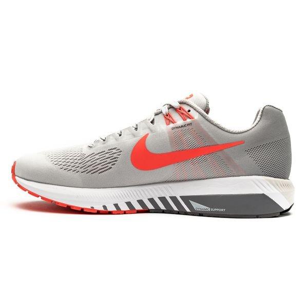 best service a6875 56e94 Nike Running Shoe Air Zoom Structure 21 - Vast Grey Bright Crimson Grey