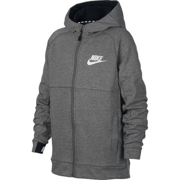 Nike Veste à Capuche FZ NSW Advance 15 GrisBlanc Enfant