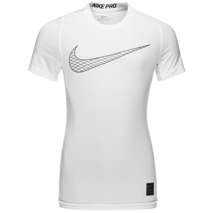 Nike Pro Compression - Blanc/Noir Enfant