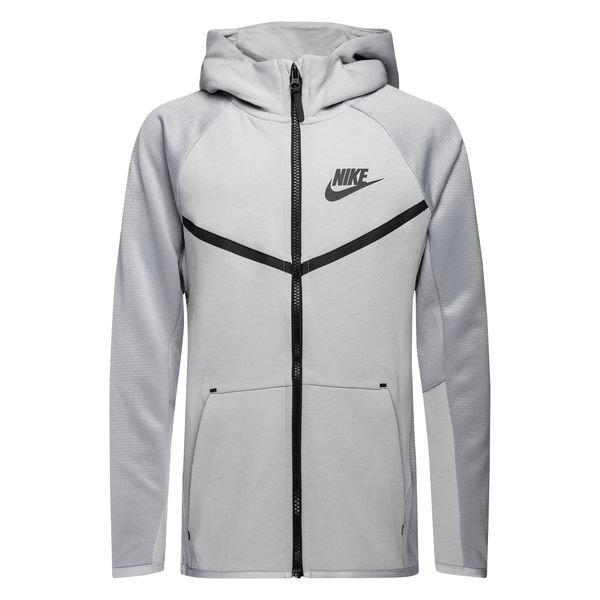 Nike Veste à Capuche FZ NSW Tech Fleece Gris Enfant