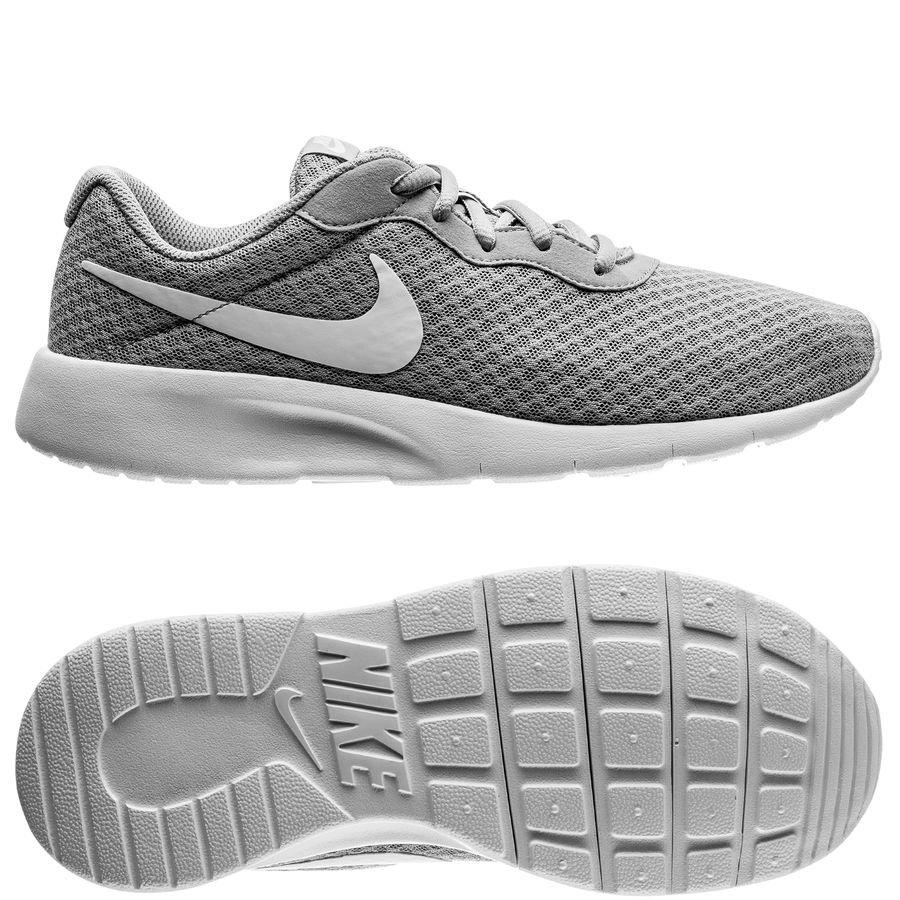 Nike Tanjun Racer - Wolf Grey/White Kids
