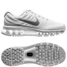 nike air max 2017 - white/metallic silver kids - sneakers