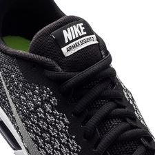 Nike Air Max Sequent 2 SvartSilver Barn