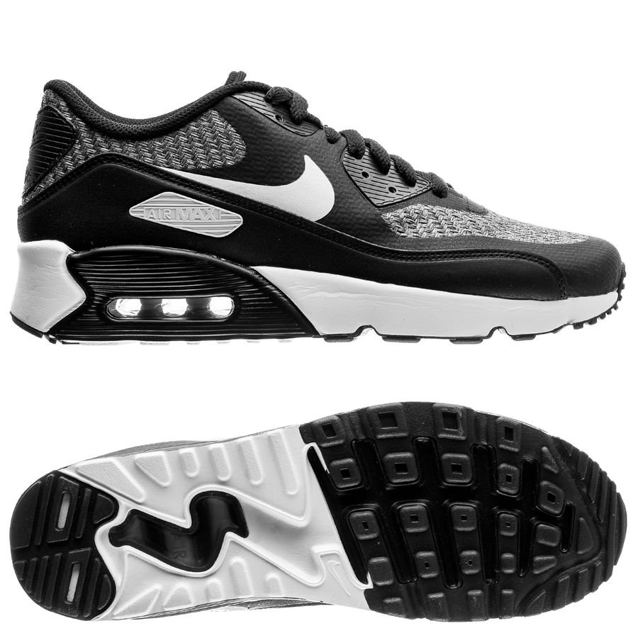 huge selection of f5fcf 3b600 nike air max 90 ultra 2.0 - svartgrå barn - sneakers ...