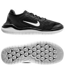 nike chaussures de running free rn 2018 - noir/blanc enfant - chaussures de course