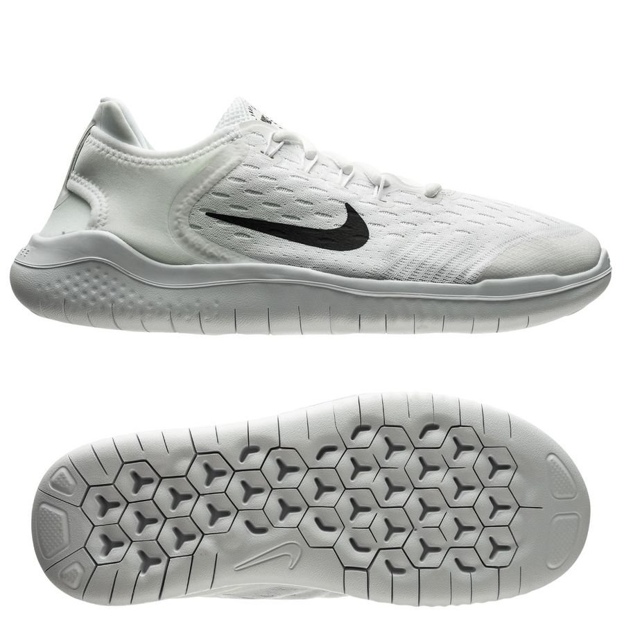 Nike Chaussures de Running Free RN 2018 - Blanc Enfant