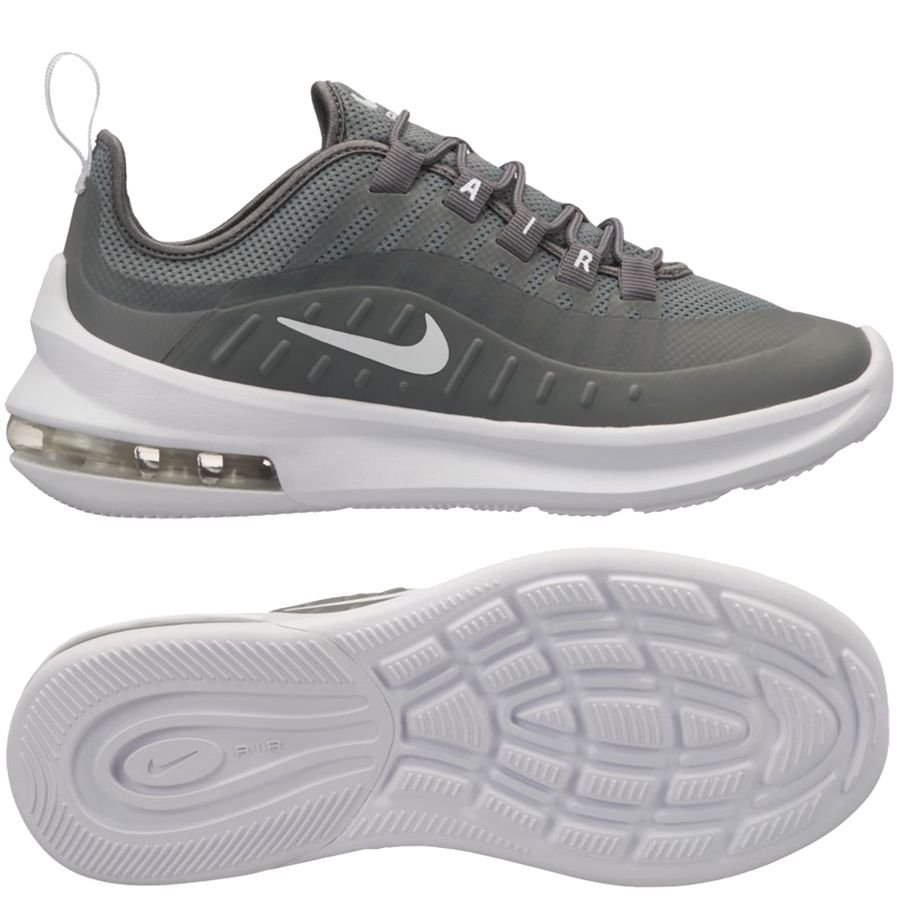 timeless design b4560 b5dd6 nike air max axis - grå vit barn - sneakers ...