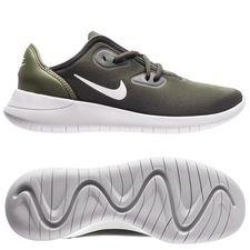nike hakata - grön/vit barn - sneakers