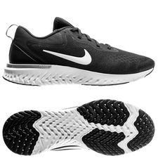 nike running shoe odyssey react - black/white-wolf grey - running shoes ...