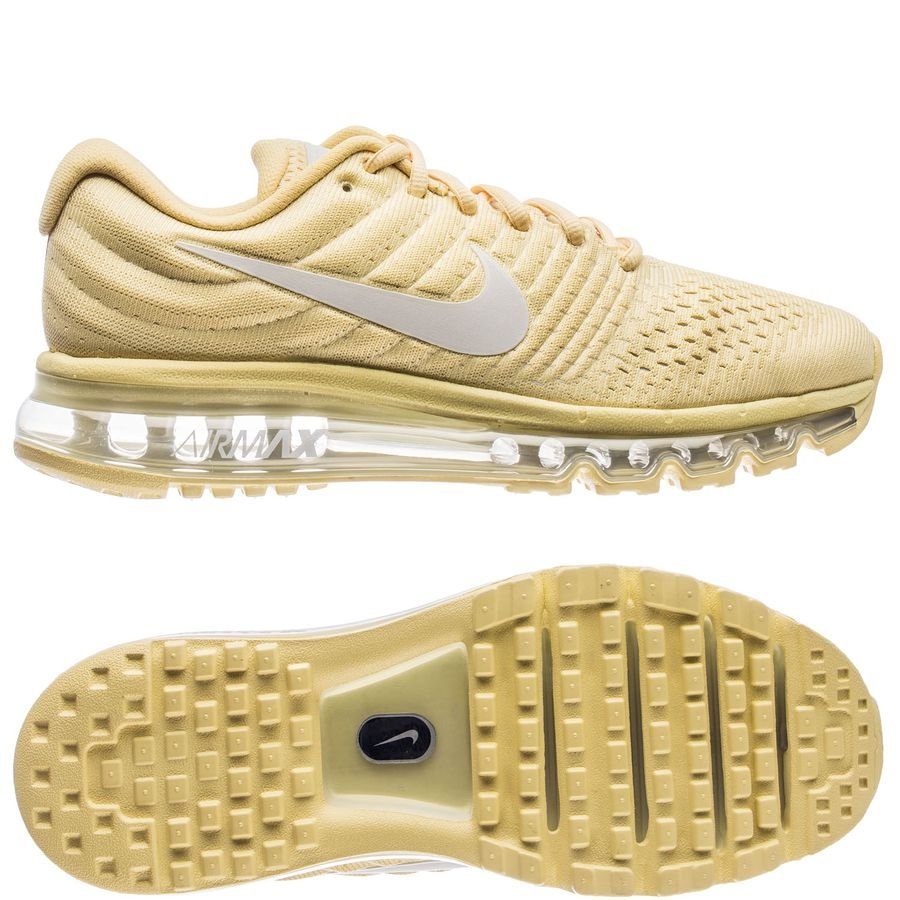 sports shoes a1d3f 88ae7 nike air max 2017 special edition - yellowplatinum woman - sneakers ...