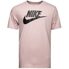 nike t-shirt nsw futura icon - rosa/sort - t-shirts