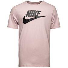 nike t-shirt nsw futura icon - particle rose/black - t-shirts