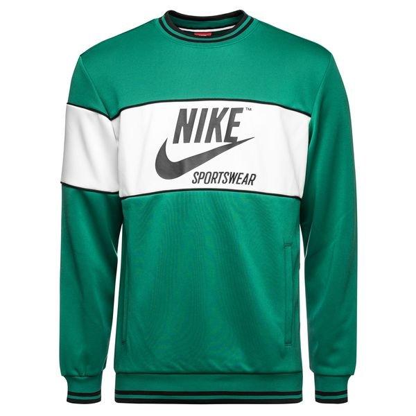 nike sweatshirt grün schwarz