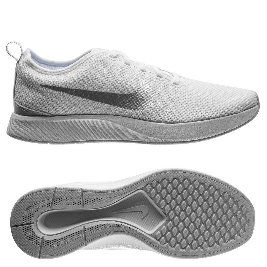 Nike Dualtone Racer - Blanc/Gris Femme