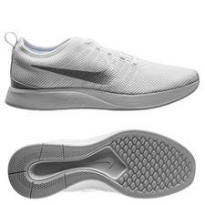 nike dualtone racer - white/pure platinum women - running shoes