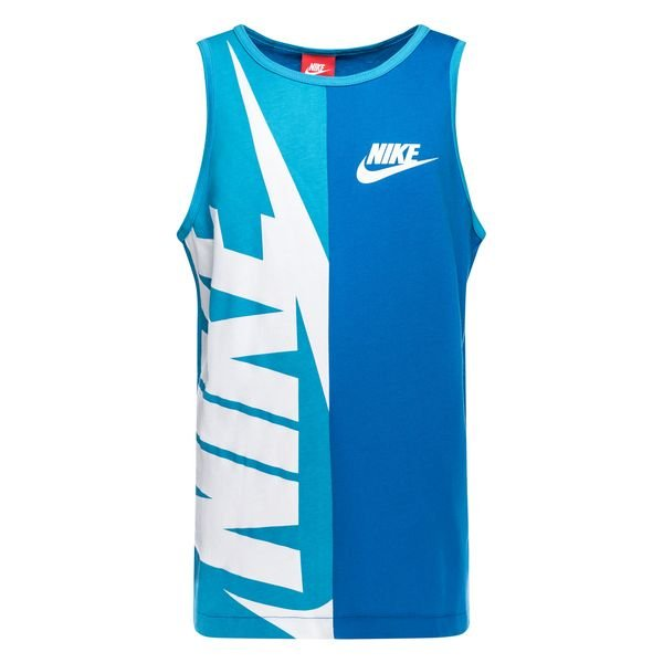 nike tank top nsw gfx blau kinder. Black Bedroom Furniture Sets. Home Design Ideas