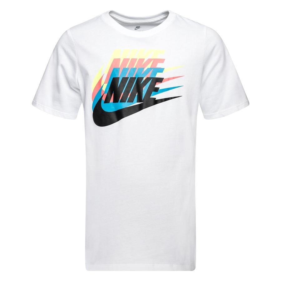 low priced b48a8 6af61 nike t-paita nsw sunset futura - valkoinen lapset - t-paidat ...