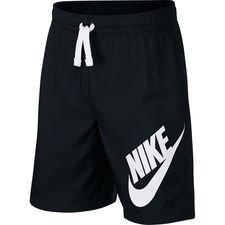 nike shorts nsw - sort/hvid børn - træningsshorts