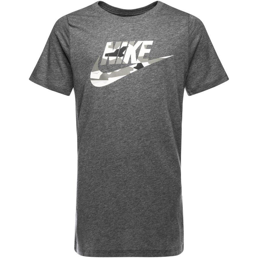 Nike T Shirt NSW Camo GråGrå Barn
