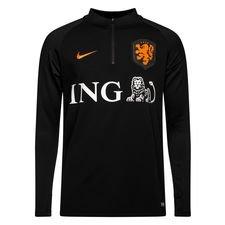holland træningstrøje dry squad drill - sort/orange - træningstrøjer