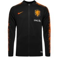 holland training jacket anthem - black/safety orange kids - training jackets